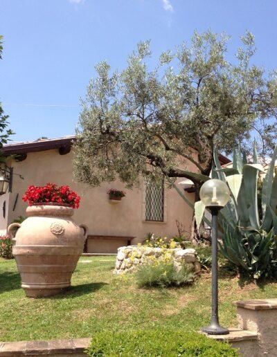 Fiori e piante giardino agriturimo Spoleto