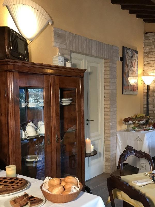 Antique furniture at Agriturismo Collerisana Spoleto